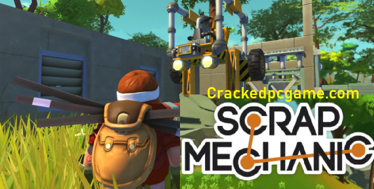 Scrap Mechanic Crack Free Download Pc Game Full Torrent