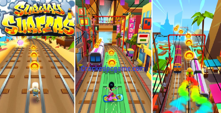 Subway Surfers Crack For Pc + Apk Download Free Game Full Torrent